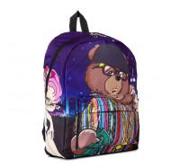 Молодежный оригинальный рюкзак Cool Cat ( мишка)