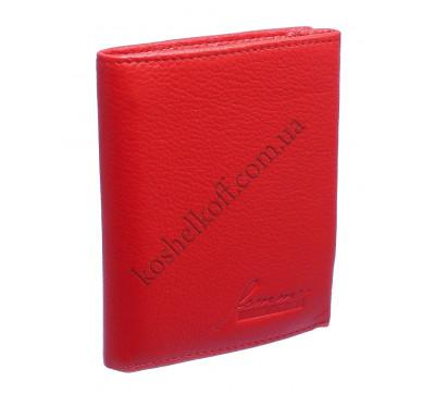 Вертикальный женский кошелек кожаный 604-С