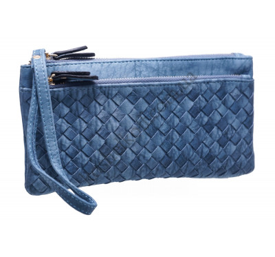 Оригинальный женский кошелек A843 blue
