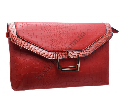 Стильный клатч SFD 8062 red