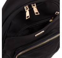 Женский городской рюкзак из водоотталкивающей ткани Nobol 1933 черный