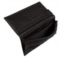 Кошелек - купюрник мужской кожаный на магните Kafa 08102
