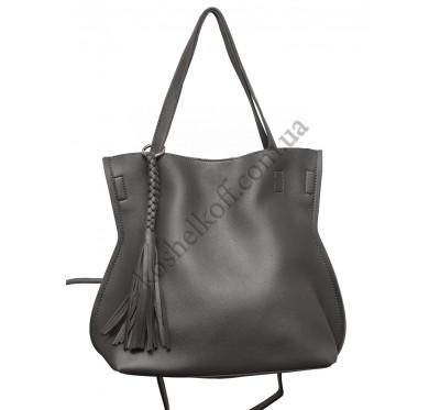 Стильная женская сумка 8090 grey
