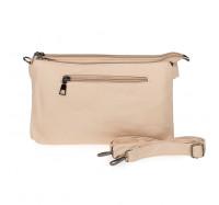 Женская сумка через плечо Bagira 206 персиковая