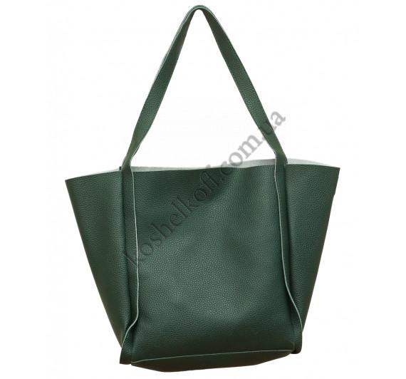 Оригинальная женская  сумка X-006 (зеленая)