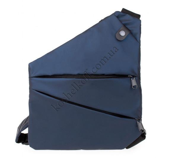 Мужская сумка-кобура cross body Lerom P8889 Blue