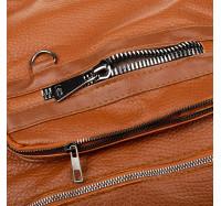 Женская сумка-рюкзак через плечо B-R-N коричневая (Турция)