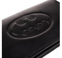 """Кошелек из натуральной кожи Dezzle с тиснением""""Бэтмен"""" черный,  (2602 batman black)"""