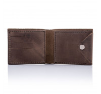 Кошелек кожаный Dezzle 2604 темно-коричневый