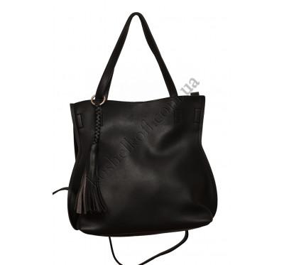 Стильная женская сумка 8090 black