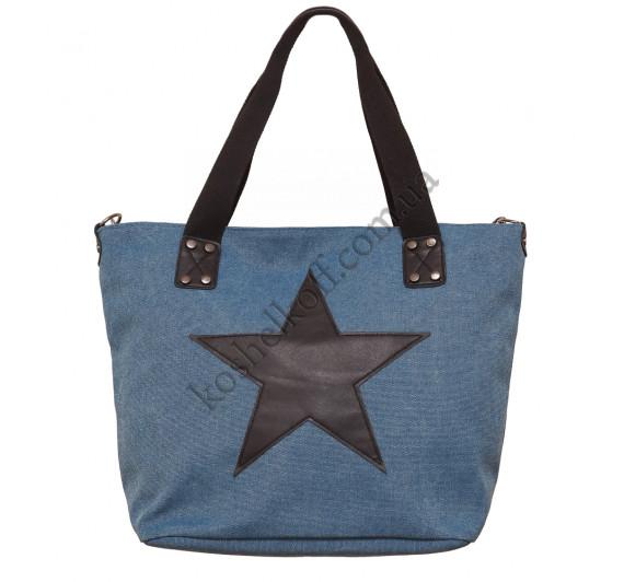"""Красивая  женская сумка """"Кожаная звезда"""" L-05"""