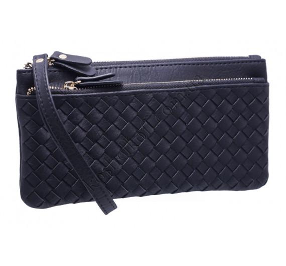 Оригинальный женский кошелек A843 black