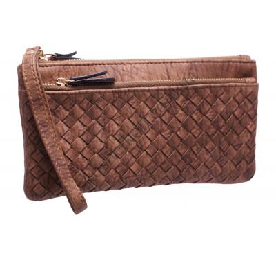 Оригинальный женский кошелек A843 brown