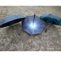 Зонт обратного сложения, смарт зонт -  5505