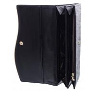 Классический женский кошелек A129-9202C black
