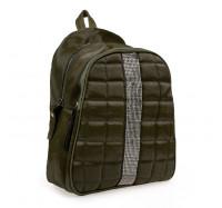 Рюкзак женский из искусственной кожи B-R-N зеленый