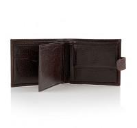 Мужской кошелек портмоне кожаный Desisan 080 142 т. коричневый