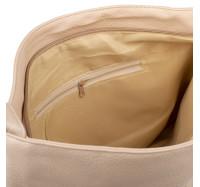 Сумка женская вместительная через плечо Bagira 870 Beige