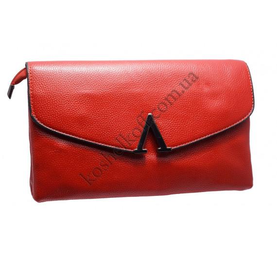 Стильный женский клатч H6004 red