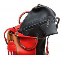 """Оригинальная трехцветная женская сумка """"4 в 1""""  P164/3"""