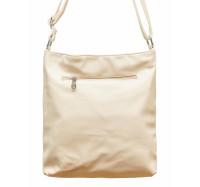 Женская сумочка через плечо 001 (кремовая)