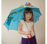 Детский зонт  3D D-55  Жираф