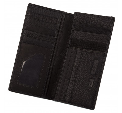 Кошелек - купюрник мужской кожаный на магните Kafa 337-A