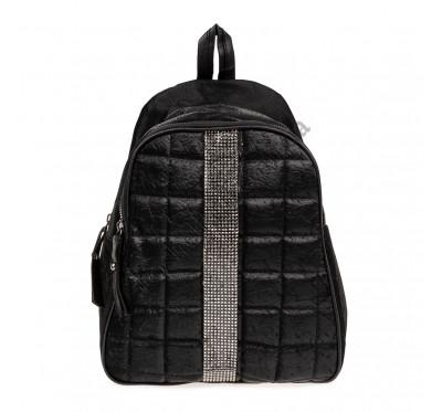 Рюкзак женский из искусственной кожи B-R-N черный