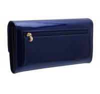 Классический кожаный кошелек BC35 blue