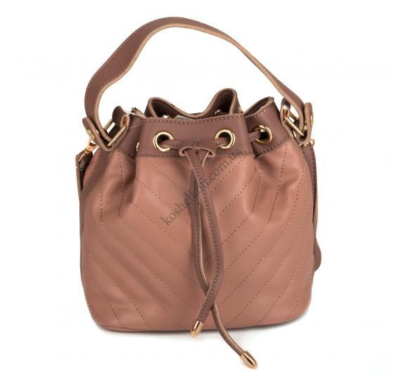 Стильная  женская сумка    6656 pink