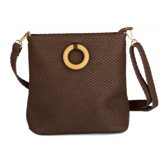 Стильная  женская сумка   3311 coffeе