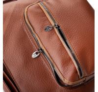 Женская сумка через плечо коричневая 5603 B-R-N (Турция)