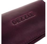 Кошелек из натуральной кожи Dezzle фиолетовый,  (2602 purple)