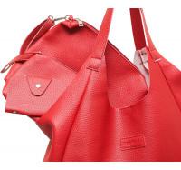 """Практичная женская сумка """"4 в 1"""" P157   (красная)"""