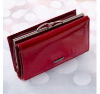 Кошелек женский кожаный KAFA AE2155 Red
