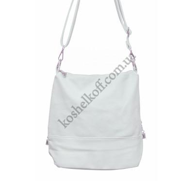 Женская сумочка через плечо 003 (серая)