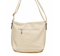 Женская сумочка через плечо 002 (пудра)