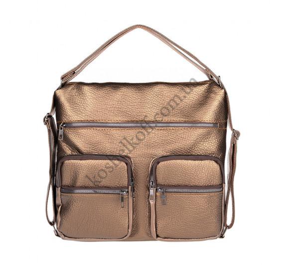 Женская сумка через плечо бронза B-R-N 5604 (Турция)