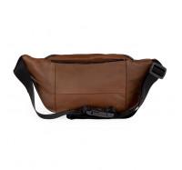 Кожаная сумка на пояс (бананка) LT 5643 микс