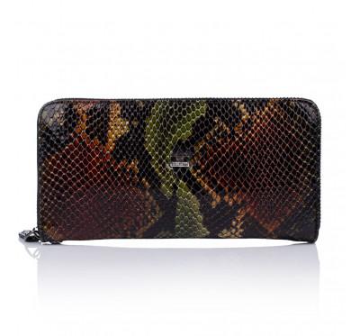 Женский большой кошелек из натуральной кожи на молнии Desisan 09 586