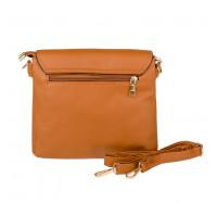 Женская сумочка через плечо коричневая Bagira 981