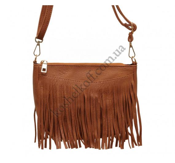 Модная женская сумка 6606 brown
