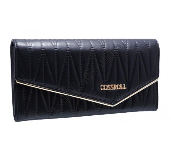 Классический женский кошелек A129-9202G black