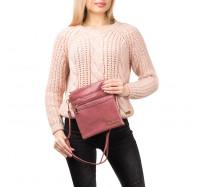 Женская сумка-планшет через плечо 0015 розовая