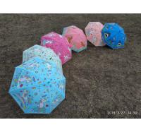 """Изысканный женский силиконовый  зонт-трость """"Единорог"""" 7701"""