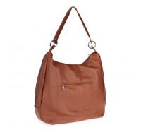 Женская сумка через плечо коричневая 5605 B-R-N (Турция)