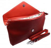 Стильный клатч SFD 8028 red