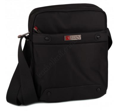 Nobol 3625 Черная мужская сумка на плечо