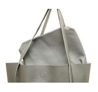Оригинальная женская  сумка X-006 (серая)