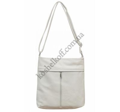 Женская сумочка через плечо 001 (серая)